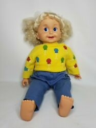 Vintage 1985 Playmates Cricket Talking Doll With One Tape In Great Working Cond