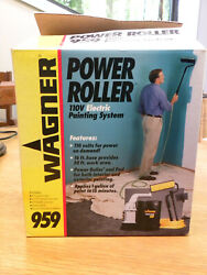 Wagner Power Roller 959_electric Painting System_tested_vg Condition_complete