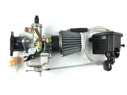 Carburetor And Throttle Lever And Cable And Intake For Honda Trx200sx Trx200d Typeii