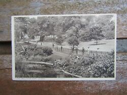 Old Postcard - The Dell - Hyde Park - London