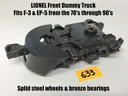 Lionel Parts - Ep-5 Or F-3 Dummy Front Truck - Mpc Era - New