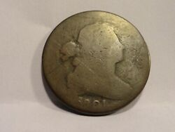 Rare 1801 Draped Bust Large Cent Mold Die 1/8 Turn Free Shipping See Pictures