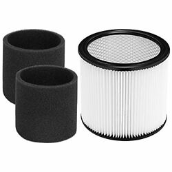 Jorair Foam Sleeve Filter For Shop-vac 90350 90304 90333 Replacement Fits Most W