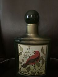 Vintage Collectible Jim Beam Scarlet Tanger Empty Whiskey Decanter Bottle