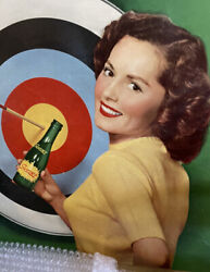 Old Squirt Advertising Sign 1940-50s Era
