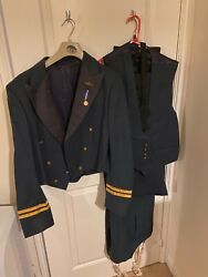 Royal Air Force Raf Officer's Number 5 No 5 Uniform Jacket Waistcoat 2xtrousers.