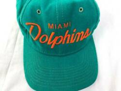 Vintage Wool Miami Dolphins Hat Youngan Sports Specialties Snapback Trucker