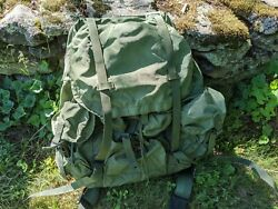 Us Military Alice Combat Field Pack - Large - Complete W/ Frame, Straps And Belt