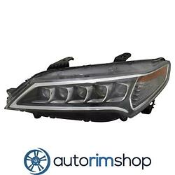 Left Driver Side Headlight For 2015 - 2016 Acura Tlx Ac2502127n