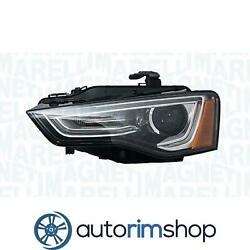 Left Driver Side Headlight Lens And Housing For 2012 - 2014 Audi A5 Au2502194