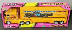 Nylint Toys Circle Track Racers Tractor Trailer 1996