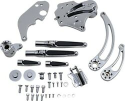 Hawg Forward Control Kit With Slotted Levers Extended +2-1/2 Chrome Fckf14cefrs