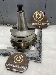 Seco Cat50 Holder W/ R220.69-8200-12/18-12cn Mill Cutter And Inserts_fast Shipping