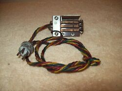 Vintage Jukebox Seeburg B Through L Coin Switch Assembly.