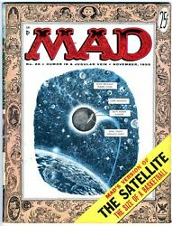 Mad Magazine 26 Vg/fn 1955 Strict Grading /1 Day Shipping