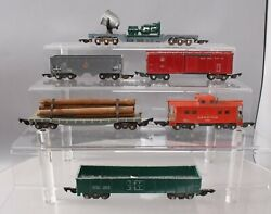 American Flyer Postwar S 632, 7210, 633, 631, 630 And Other Freight Cars [6]