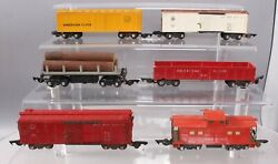 American Flyer S Vintage Freight Cars 633, 639, 641. 630, 714 [6]