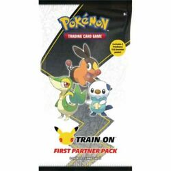 Pokemon First Partner Pack Unova New Sealed 2 Booster Packs In Hand Free Ship