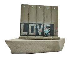 Banksy Love Figurine Original Direct From The Walled Off Hotel With Receipt