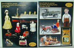 Julia 2 Catalogs June And Nov 2012 Important Toy Doll Advertising Auctions