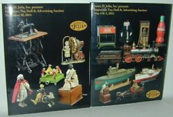 Julia 2 Catalogs May And Nov 2011 Important Toy Doll Advertising Auctions
