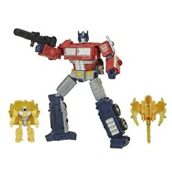 Optimus Prime Transformers War For Cybertron Battle 3pk Collectible Toys Weapons