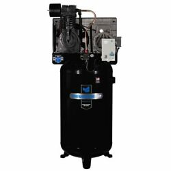 Industrial Air 7.5-hp 80-gallon Two-stage Air Compressor 230v 1-phase W/ St...