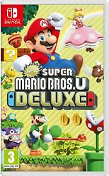 New Super Mario Bros. U Deluxe - Nintendo Switch - Neuf Sous Blister -version Fr
