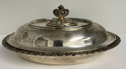 Beuatifull And Co Sterling Silver Vegetable Serving Dish And Cover 36.4ozt