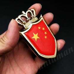 Metal Golden China Chinese Flag Cpc Crown Shield Car Emblem Badge Decals Sticker