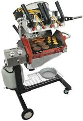 Gas Grill Propane V8 Engine Style Hot Rod Grill 37 Length 30 Width 46 Height