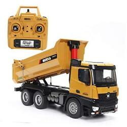 1582professional 114 Scale Rc Mental Dump Truck Remote Control Toy