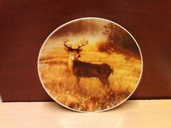 Thanksgiving 2001 Tone World Hautman Brothers Deer/stag Plate