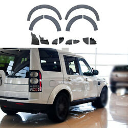 For Land Rover Discovery 4 2010-2016 Primed Wheel Eyebrow Arches Fender Flares
