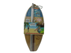 New Tiki Toss Original Hook And Ring Game 100 Bamboo - Deluxe Edition