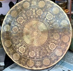 Extra Large Gong 100 Cm-39 Inch Best Resonance High Quality Healing Big Gongs
