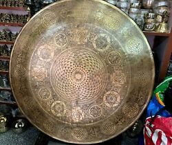 100 Cm Large Gong- Big Temple Gong From Nepal- 39 Inch Best Resonance Sounds