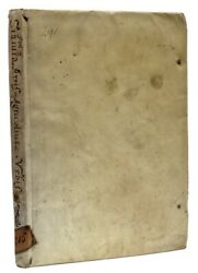 1627 Roman Agricultural Statutes Farming Agriculture History Rome Vellum Binding