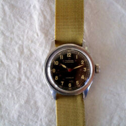 Vintage Timor 1940s Military Watch World War Ii From Japan