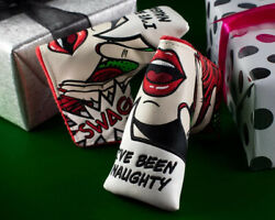 Swag Golf Cotm Christmas Swagatha I've Been Naughty Golf Blade Headcover Sealed