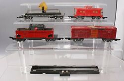 American Flyer 4611 Vintage S Nyc Freight Set 716, 634, 629 And 630 Cars Only