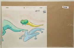 Ghostbusters Original Production Drawing And Cel 73-54 Used Cond.
