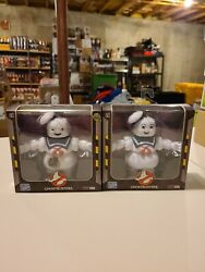 Loyal Subjects Ghostbusters Stay Puft Set Marshmallow Man Burnt Angry 2019 Sdcc
