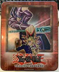 Yu-gi-oh 2002 Yugioh Booster Pack Collectors Tin Dark Magician New Sealed Rare