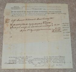 African American Revolutionary War Patriot Wentworth Cheswill Signed Twice