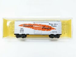 N Scale Micro-trains Mtl 20211 Wp Western Pacific Feather 40' Boxcar 20826