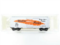 N Scale Micro-trains Mtl 20210 Wp Western Pacific Feather 40' Boxcar 20826