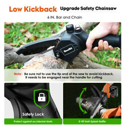 Seesii 110-220v 750w Rechargeable Pruning Cordless Chainsaw For Parks Farms Use