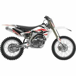 One Industries Yamaha Factory White Complete Graphic Kit - 65160-014-391