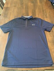 Under Armour 1290140 Menand039s Ua Tech Performance Loose-fit Golf Polo Team Shirt